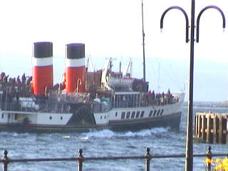 The Waverley near Largs Pier