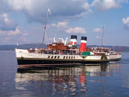 Ps Waverley And Balmoral River Clyde Cruises